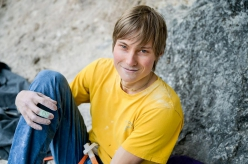 German climber Alex Megos