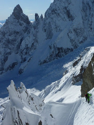 Tour Ronde - Cresta Est - Couloir Cache'
