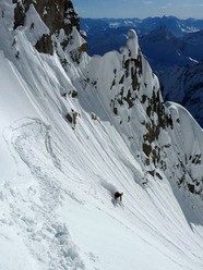 Tour Ronde - East Ridge - Couloir Cache'
