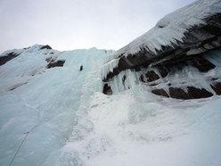 Un monento del Meeting di ghiacciatori ad Albigna