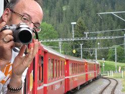 Salutiamo Brig a bordo del Glacier Express...