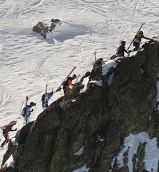 During the Pierra Menta 2010 ski mountaineering competition