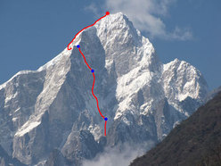 Parete Est del Mont Edgar (6618m), Cina by Bruce Normand (UK) e Kyle Dempster (USA)
