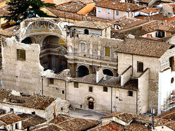 L'Aquila after the earthquake on 6/04/2009