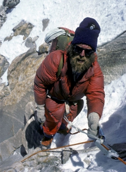 16/04/2011 at Courmayeur: Doug Scott will receive the Lifetime Contribution Award