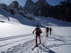 02/04/2011: Jean-François Premat, Alain Premat and Sébastien Baud set a new record on the Chamonix - Zermatt in 18:50:29