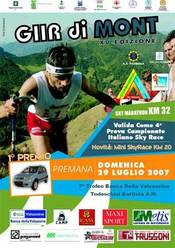 """Il 29/07 si disputa a Premano (LC) la XV edizione della Skirace """"Giir di Mont""""."""