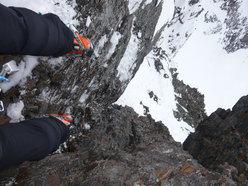 Rossano Libera, misto solitario sulle Alpi Orobie