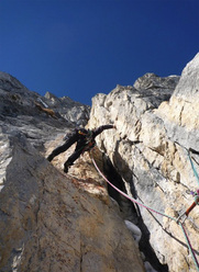 Fulmini e Saette, first winter ascent on Gran Sasso