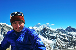 The Swissman Ueli Steck in the Himalaya