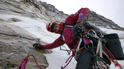 Ueli Steck in the Himalaya