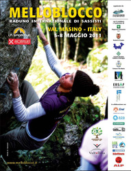 The Melloblocco is the world's biggest and most important bouldering meeting and takes place evey May in Val Masino, Sondrio, Italy.