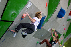 The first stage of the Bouldering World Cup 2011 in Milan