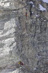 La nuova via aperta il solitaria da Hervé Barmasse sulla parete sud del Picco Muzio, Cervino