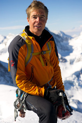 Swiss Mountain Guide Dani Arnold, born in 1984.