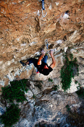 Thanasis Xtenas climbing I've got the Paouer 8b a Paou