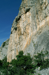 The crag Anarva, Magnesia, Greece