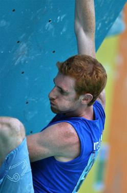 Gabriele Moroni competing at Arco