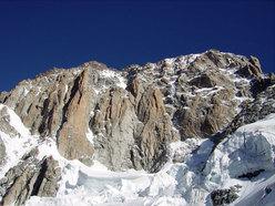 I pilastri del Brouillard dal bivacco Lampugnani - Grassi