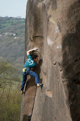 Gaia (E8 6c), Black Rocks