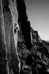 Ulysse's Bow (E6 6b), Stanage