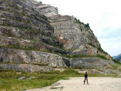 L'ex cava Martinetto di Tirano (Savona)