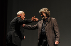 Reinhold Messner and Pierre Mazeaud