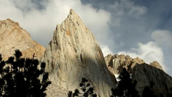 The Incredible Hulk in California, USA, described by Pete Croft as the best alpine wall in the country.