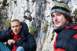 Steve McClure & Adam Ondra at Malham Cove, England