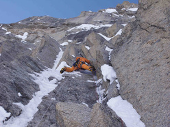 Matt Helliker, 1° tiro, 2° giorno di The Cartwright Connection, Mt. Hunter, Alaska