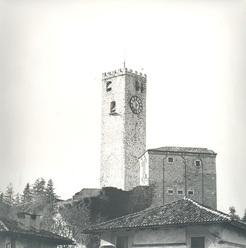 Il Castello di Gemona prima del 1976