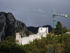 Il Castello di Gemona nel 2011.
