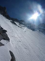 Goulotte del Pioda, Masino-Disgrazia mountain chain
