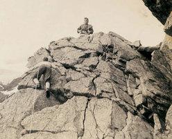 Chiareggio immagini dalla storia dell'arrampicata