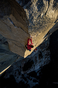 Leo Houlding on The Prophet, El Capitan, Yosemite, USA
