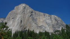 El Capitan, the symbol of Yosemite Valley, USA