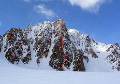 The Partner: M6+, 600m, 16h, G. Kresal & K. Zupanc, Spitzbergen, Svalbard