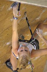Sandrine Levet vincitrice del Rock Master 2006
