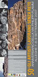 Dal 7 al 9/09 ad Alleghe e al rifugio Tissi si festeggierà il 50esimo anniversario dell'apertura della via del diedro Philipp – Flamm sulla parete nord ovest della Civetta (Dolomiti).