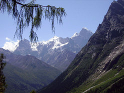 Siguniang Peak, Changping Valley, Sichuan Mountain (Cina)