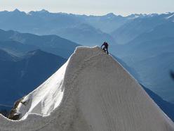 Cresta Kuffner, Mont Maudit, Monte Bianco