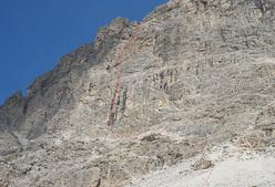 Blede alla riscossa (5+, 360m), Piccolo Lagazuoi, Dolomites