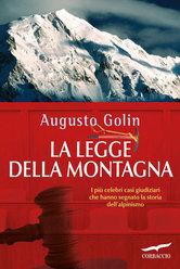 La legge della montagna di Augusto Golin (ed. Corbaccio)