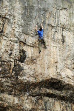 James McHaffie on The Big Bang at Lower Pen Trwyn