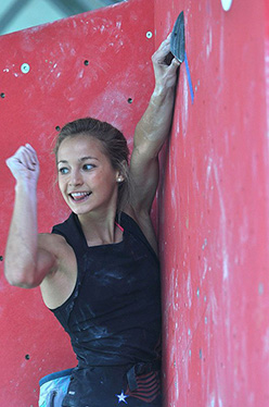 Sasha DiGiulian / The state of the art of women's climbing