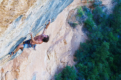 Chris Sharma on his project at Margalef
