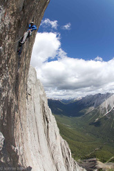 Sonnie Trotter and Tommy Caldwell on The Shining 5.13+, Mount Louie, Canada
