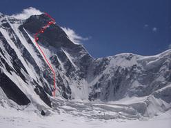 Peak Prezhevalskogo, 6240m