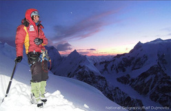 Gerlinde Kaltenbrunner at Camp II on K2