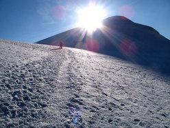 Atmosfera surreale prima della cima del Monte Ararat